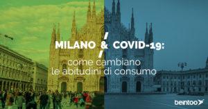 Milano Covid-19 consumi in calo