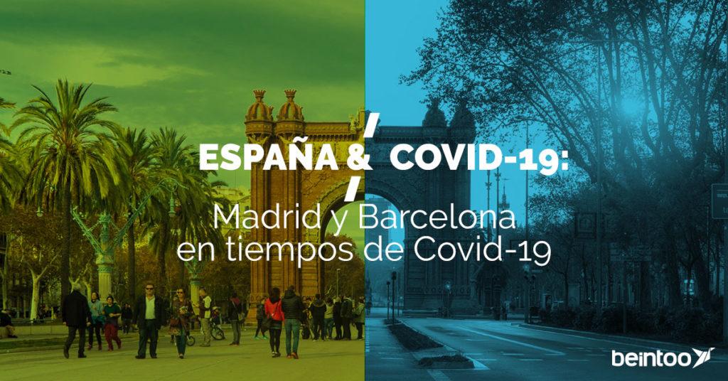 Madrid y Barcelona Covid-19