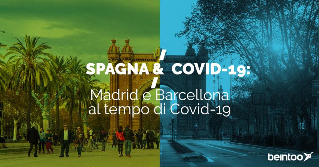 Madrid e Barcellona Covid-19
