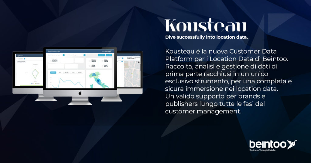Kousteau.io Customer Data Platform Beintoo
